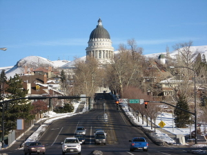 """Utah State Capitol seen from State Street"" by I, Padraic Ryan. Licensed under CC BY-SA 3.0 via Commons - https://commons.wikimedia.org/wiki/File:Utah_State_Capitol_seen_from_State_Street.jpg#/media/File:Utah_State_Capitol_seen_from_State_Street.jpg"
